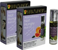 Soulflower Aromatherapy Not Hungry Roll On - Pack of 2(8 ml)