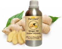 Devinez 1000-2016, Ginger Essential Oil, 100% Pure, Natural & Undiluted(1000 ml)