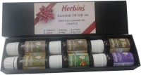 Herbins Aroma Therapy Essential Oil Set 6 X 10ml(60 ml)