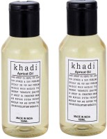 Khadi Herbal Apricot Oil (Twin pack )(200 ml)