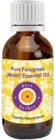 DèVe Herbes Pure Fenugreek(Methi) Oil (Essential) 10ml - Trigonella Foenumgraecum(10 ml)