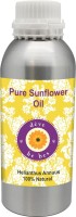 DèVe Herbes Pure Sunflower Oil 630ml (Helianthus Annuus) 100% Natural Cold Pressed(630 ml)
