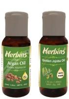 Herbins Essential Oil (Argan & Jojoba)(100 ml)