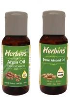 Herbins Essential Oil (Argan & Sweet Almond)(100 ml)