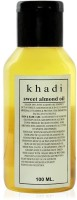 Khadi Rockside Sweet Almond Oil(100 ml) - Price 46 69 % Off