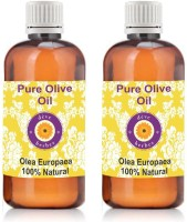 DèVe Herbes Pure Olive Oil - Pack Of Two (100ml + 100ml) Olea Europaea - 100% Natural & Pure(200)