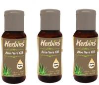 Herbins Aloe Vera Oil Combo-3(150 ml)
