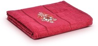First Row Cotton 2000 GSM Bath Towel(Red)