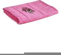 First Row Cotton 2000 GSM Bath Towel(Pink)