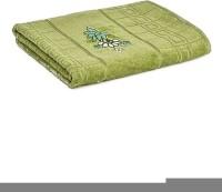 First Row Cotton 2000 GSM Bath Towel(Green)
