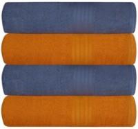 Ruchi World Cotton 400 GSM Bath Towel Set(Pack of 4, Multicolor)