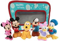 Disney Mickey Mouse and Friends Bath Toy(Multicolor)
