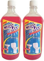 Cleanmax 1L -Pack of 2- Toilet Bowl & Rose(1 L, Pack of 2)