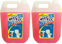 Cleanmax 5L -Pack of 2- Toilet Bowl & Rose(5 L, Pack of 2)