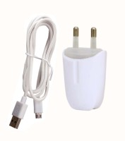 Trost Sparkey LED Indicator Wall Adapter with USB Cable for Mt X Play Mobile Charger(White)