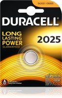 Duracell Battery - Specialty Type 2025 Lithium Coin , pack of 1(Multicolor) Flipkart Rs. 85.00