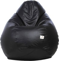 View Star XL Bean Bag Cover  (Without Beans)(Black) Furniture (Star)