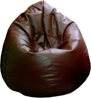 View Happy XL Bean Bag Cover(Brown) Price Online(Happy)
