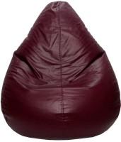 View PSYGN XXL Teardrop Bean Bag Cover(Brown) Price Online(Psygn)