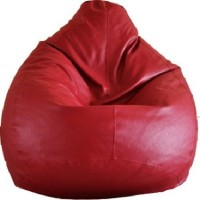 View IMUSI INTERNATIONAL XXXL Bean Bag Cover  (Without Beans)(Red) Furniture