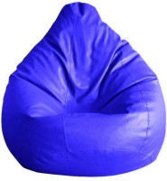 View hele XXXL Bean Bag Cover  (Without Beans)(Blue) Furniture (hele)