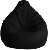 View IMUSI INTERNATIONAL XL Bean Bag Cover  (Without Beans)(Black) Furniture