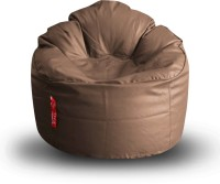 View Style Homez XXXL Lounger Bean Bag  With Bean Filling(Brown) Furniture (Style Homez)