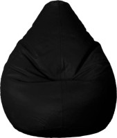 View hele XL Bean Bag Cover(Black) Furniture (hele)