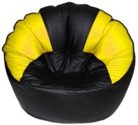 View Mr.Lazy XXXL Bean Bag Cover  (Without Beans)(Black) Furniture (Mr.Lazy)