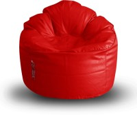 View Style Homez XXXL Lounger Bean Bag  With Bean Filling(Red) Furniture (Style Homez)