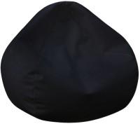 Cclassique XXL Bean Bag Cover  (Without Beans)(Black)