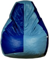 View Fat Finger XXXL Teardrop Bean Bag  With Bean Filling(Multicolor) Furniture (Fat Finger)