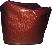 Creative Textiles XXL Bean Bag Cover  (Without Beans)(Brown)