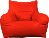 View CaddyFull XXXL Bean Bag Cover  (Without Beans)(Red) Furniture (CaddyFull)