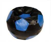 View ARRA Medium Bean Bag Cover(Black, Blue) Furniture (ARRA)