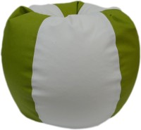 View ORKA XXL Bean Bag Cover  (Without Beans)(Green, White) Furniture (ORKA)