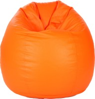 View Comfy Bean Bags XXXL Bean Bag Cover(Orange) Furniture (Comfy Bean Bags)