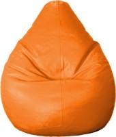View CaddyFull XXL Bean Bag Cover  (Without Beans)(Orange) Furniture (CaddyFull)