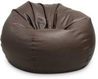 IMUSI INTERNATIONAL XL Bean Bag Cover  (Without Beans)(Brown)   Furniture  (IMUSI INTERNATIONAL)