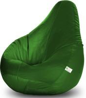 View Bean Bagwala XXXL Bean Bag  With Bean Filling(Green) Price Online(Bean Bagwala)