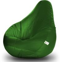 View Bean Bagwala XL Bean Bag  With Bean Filling(Green) Price Online(Bean Bagwala)