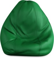 Beans Bag House Small Bean Bag Cover  (Without Beans)(Green)