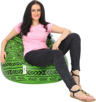 View Can Bean Bag XXXL Bean Bag  With Bean Filling(Multicolor) Price Online(Can Bean Bag)