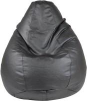 View Galaxy Decorz XXL Bean Bag  With Bean Filling(Black) Price Online(Galaxy Decorz)
