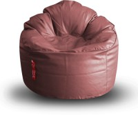 View Style Homez XXXL Lounger Bean Bag  With Bean Filling(Maroon) Furniture (Style Homez)