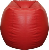 View Fat Finger XL Teardrop Bean Bag  With Bean Filling(Red) Furniture (Fat Finger)