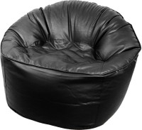 View Oade XXXL Bean Bag Sofa  With Bean Filling(Black) Furniture (Oade)