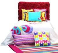 LOrange Cotton Single Bed Cover(Multicolor)