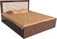 Parin Engineered Wood Queen Bed With Storage(Finish Color -  Brown)
