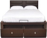 @home by Nilkamal Triumph Engineered Wood King Bed With Storage(Finish Color -  Brown)